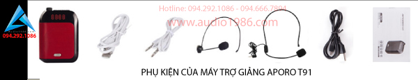Mua bán Máy trợ giảng không dây Aporo T91 mini
