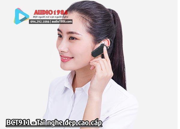 Micro Hướng Dẫn Viên Du Lịch không dây BCT911 Bộ Dẫn Đoàn Cho Nhiều Người đeo Tai nghe