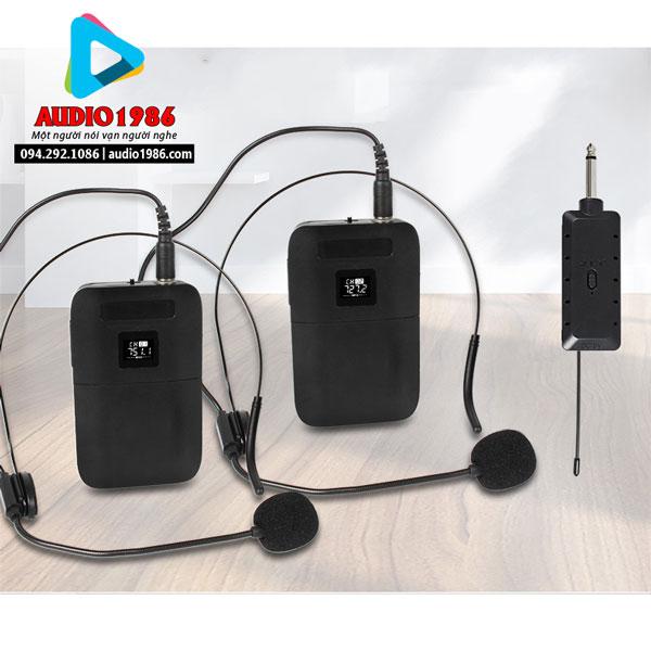 Top 5 Micro không dây đeo tai hát karaoke kết nối ampli có sẵn - 7