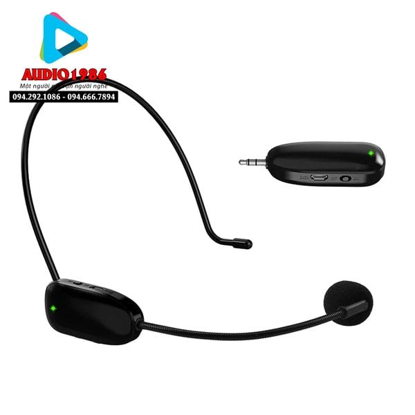 Top 5 Micro không dây đeo tai hát karaoke kết nối ampli có sẵn - 12