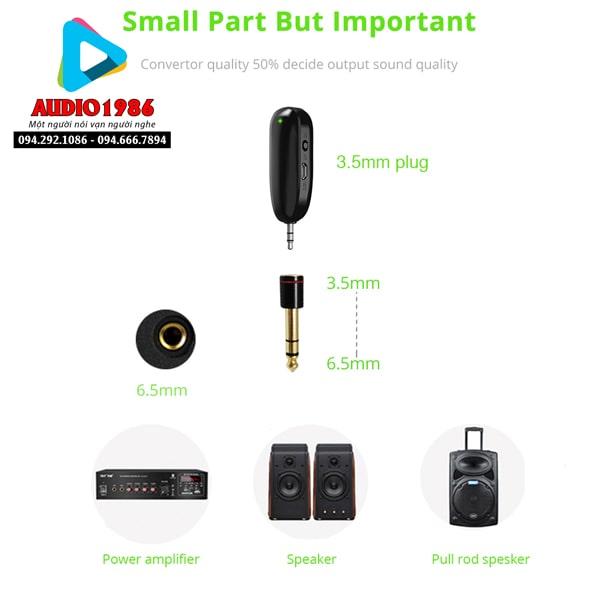 Top 5 Micro không dây đeo tai hát karaoke kết nối ampli có sẵn - 13