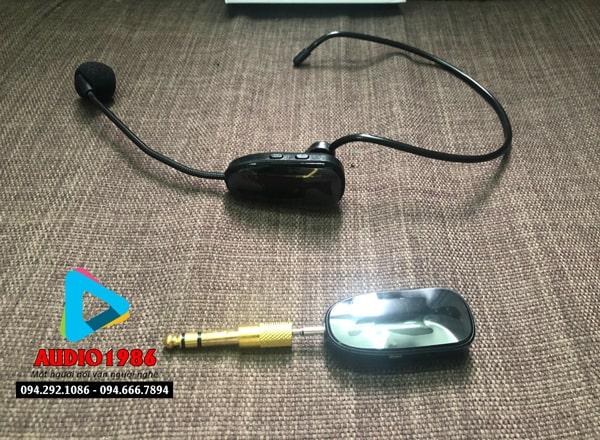 Top 5 Micro không dây đeo tai hát karaoke kết nối ampli có sẵn - 14