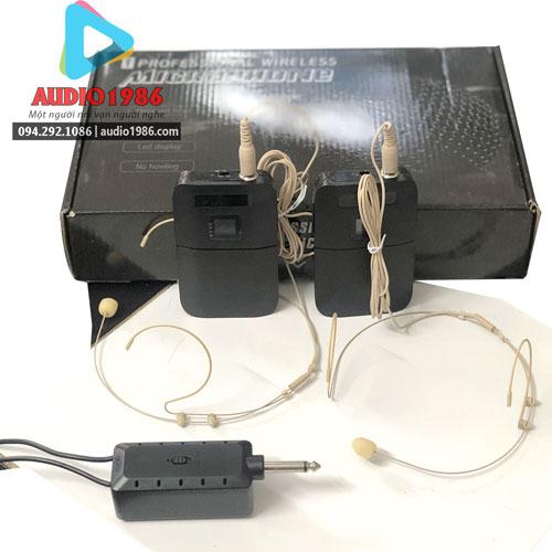 Top 5 Micro không dây đeo tai hát karaoke kết nối ampli có sẵn - 6